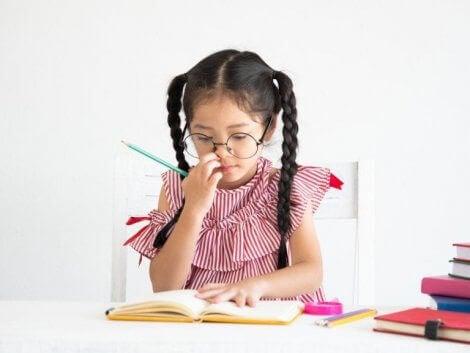 Lære barn å lage diagrammer som en studieteknikk