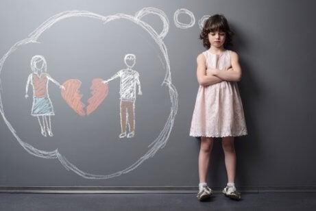 Familieoppløsning og dens virkning på barn