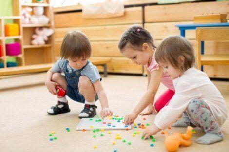 lek for å utvikle barns ferdigheter