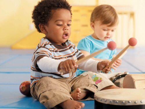 Musikk kan øke dine barns kreative prosess