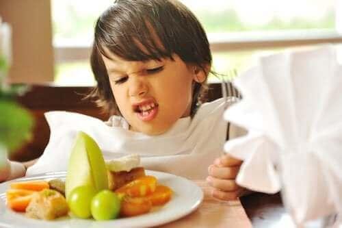 Selektiv spiseforstyrrelse hos barn