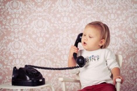 Utviklingen av språk hos babyer