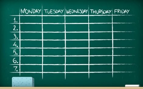 Hvordan organisere en god rutine for lekser