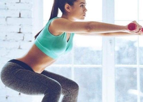 Treningsøvelser for å styrke beina dine