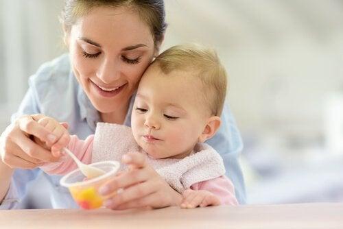 Søte oppskrifter for 12 til 24 måneder gamle babyer