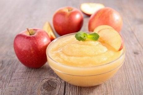 eplesaus til epleflan