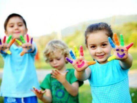 Hvordan oppmuntre barnehagebarns kunstneriske talent