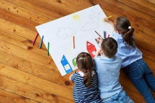 7 måter å stimulere barns kreativitet på gjennom tegning