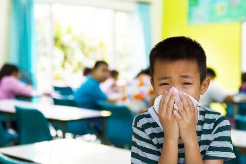 7 smittsomme sykdommer hos barn i skolealder