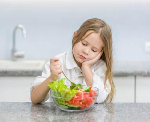 7 unnskyldninger barn bruker for å slippe å spise