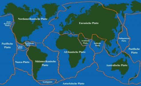 Et sammendrag av tektoniske plater for barn