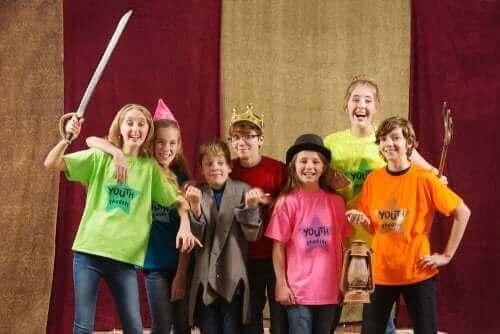 Barn på scenen