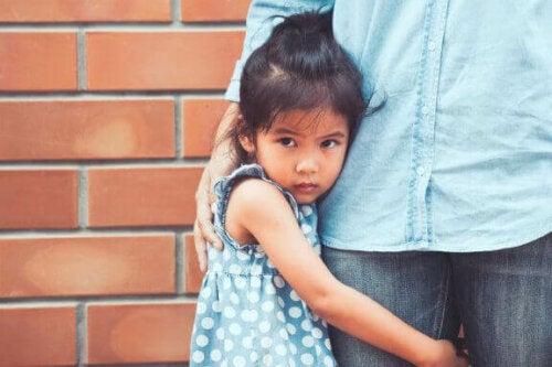 De vanligste fryktene hos barn