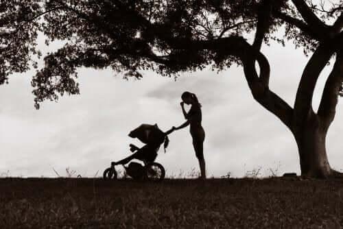 Effekten av en mors depresjon på hennes barn