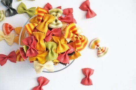 Ting barna dine kan lage med pasta