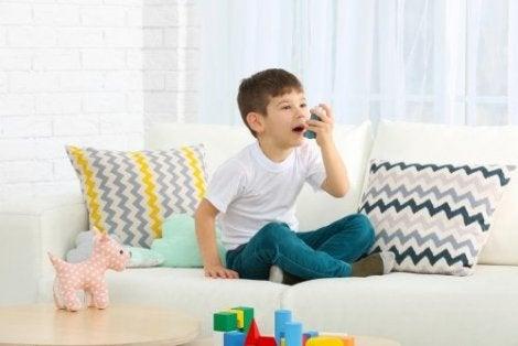 Astmabehandling hos barn: Det du burde vite