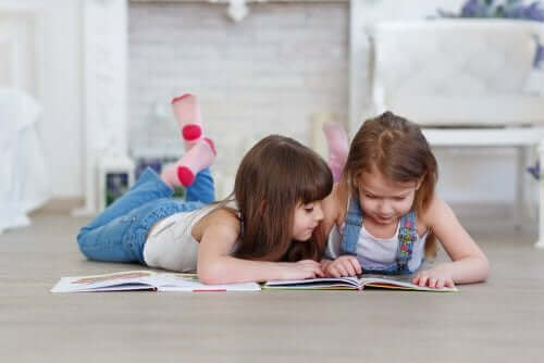 Tips for å hjelpe barna når de begynner å lese