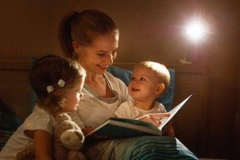 Når du skal begynne å lese bøker for barn