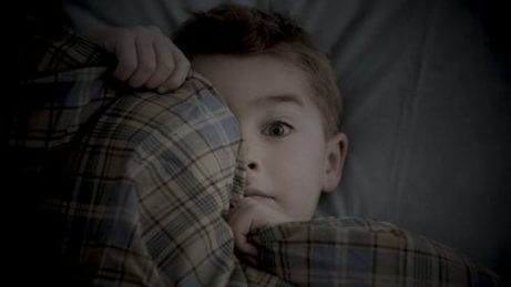 Når barn er redde for å være alene