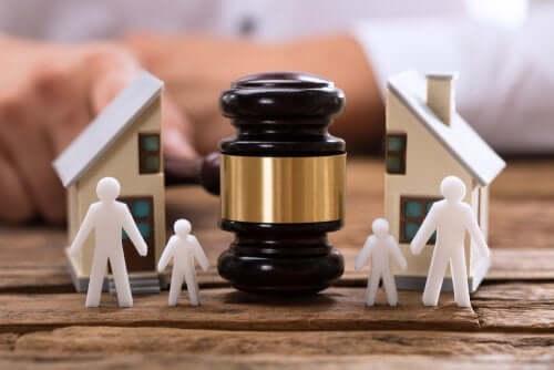 Midlertidige avgjørelser ved skilsmisser
