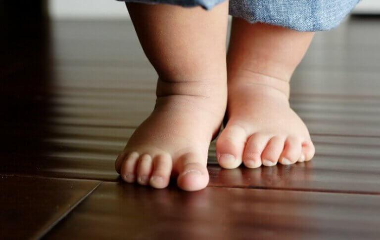 Gangrefleksen hos babyer