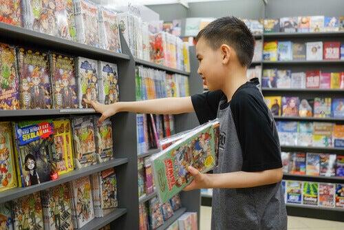 Fordeler for barn med å lese tegneserier