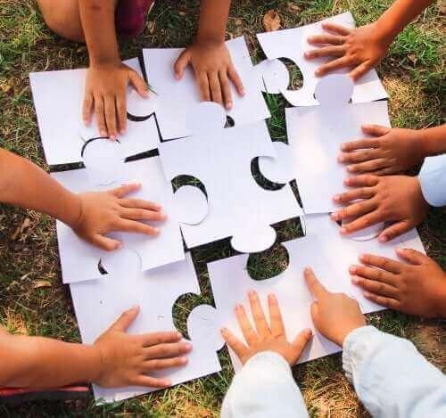 aktiviteter for samarbeid