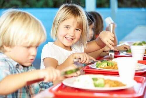 Alt du trenger å vite om riktig ernæring og skolekantinemat