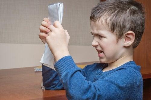 Sutring hos barn kan være rettferdiggjort.