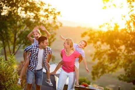 Familieutflukt for å takle kjedsomhet