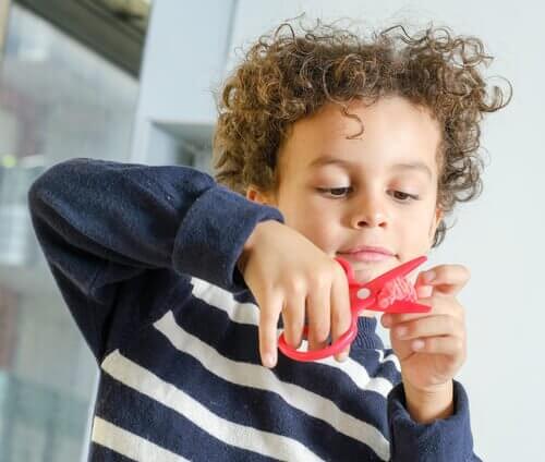 Formingsaktiviteter for barn fra 5 til 7 år