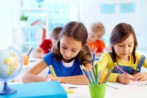 3 forskjellige læringsstiler hos barn