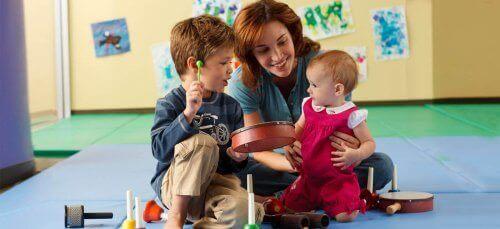 Forskjellige læringsstiler fungerer best for forskjellige barn.