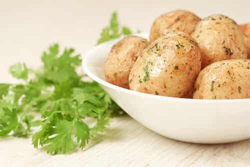 4 oppskrifter med poteter til barn