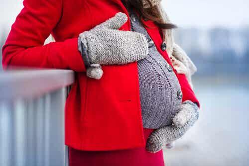 Vinterklær til gravide kvinner