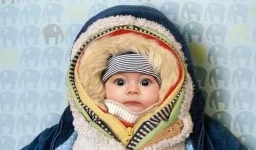 Vinterklær til nyfødte