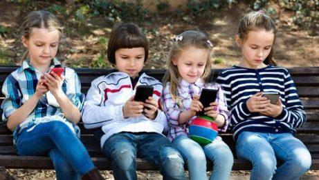 Bruk av WhatsApp hos barn