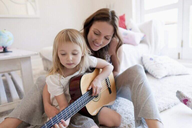 Fordelene med musikk som en måte å lære på