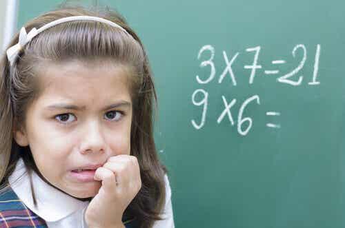 Hva er matematisk angst hos barn?