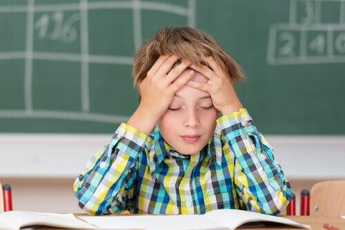 Matematisk angst må ikke forveksles med dyskalkuli.