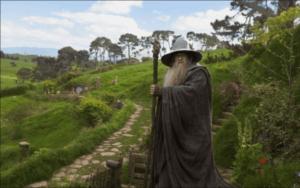 Gandalf fra Ringenes herre.