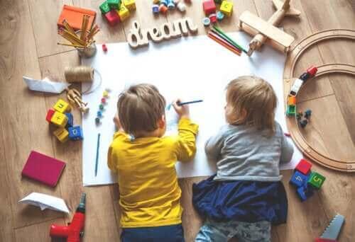Hvordan skape et læringsområde for barna