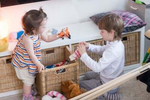 Forming og kobling forenkler læring for barn.