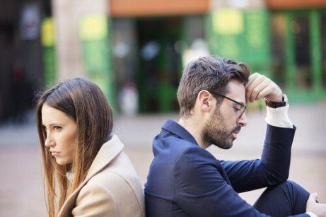 Fem vanlige problemer par har
