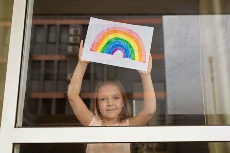 Barns evne til å tilpasse seg i karantene