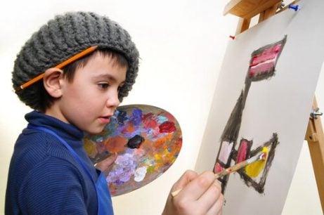Fordelene med kunst og håndverk for barn