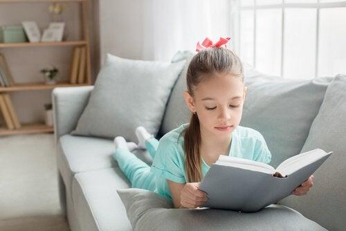 Fordelene for barn med å lese