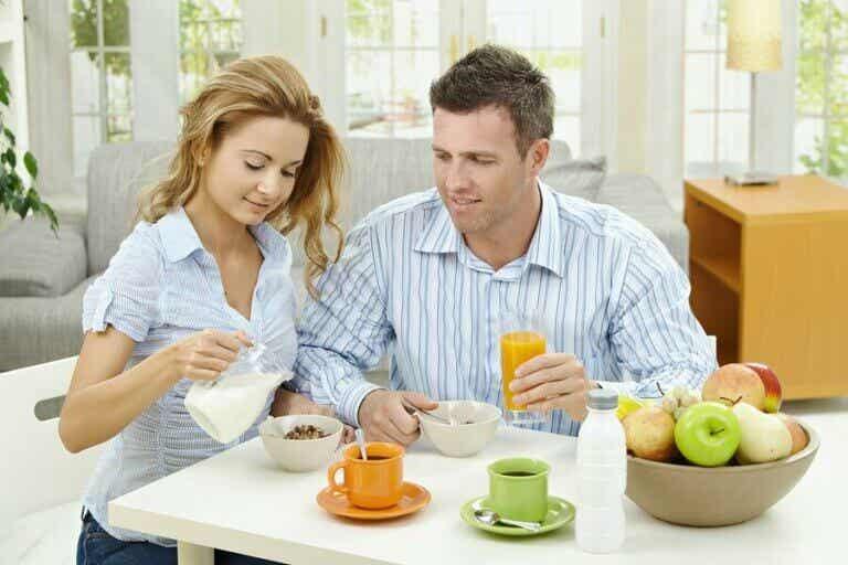 Anbefalt kosthold for økt fertilitet