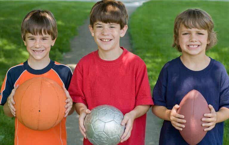 De psykiske fordelene ved idrett for barn