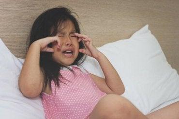 Tegn på at barnet ditt er i ferd med å ha et raserianfall